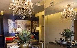Lastarria Boutique Hotel living space