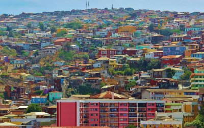 valparaiso city skyline