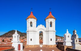 Church top in Sucre