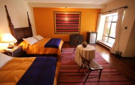 Hotel Mi Pueblo Samary twin bed room