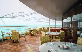 Silversea terrace with sea view
