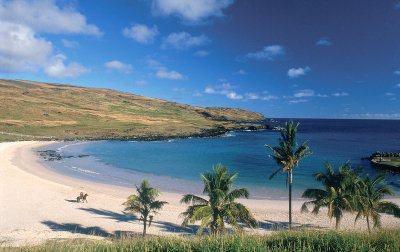 Easter Island Beach View